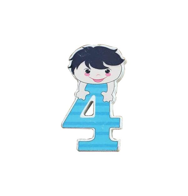 Ξύλινος αριθμός αγόρι