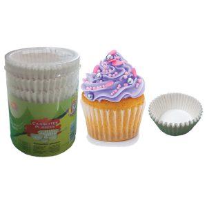 Σετ 125 πτυχωτά χαρτάκια cupcake για φούρνο [00101198]