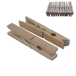 Σετ 24 ξύλινα μανταλάκια 9cm [00403041]
