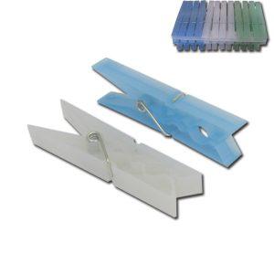 Σετ 24 πλαστικά μανταλάκια 9,5cm [00403042]
