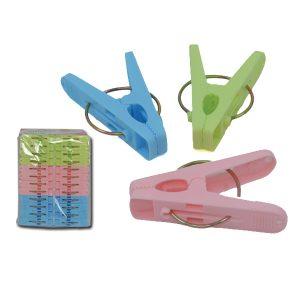 Σετ 24 μικρά πλαστικά μανταλάκια [00403062]
