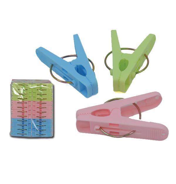 Σετ 24 μικρά πλαστικά μανταλάκια