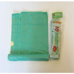 Σετ 10 σακούλες σκουπιδιών με κορδόνι σε ρολλό [70101391]