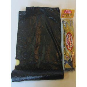 Σετ 10 σακούλες σκουπιδιών γίγας με κορδόνι σε ρολλό [70101392]