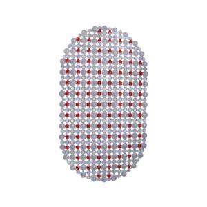 Πλαστικό αντιολισθητικό πατάκι μπανιέρας 35x65cm [00402190]