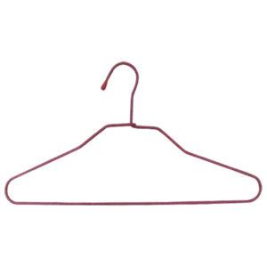 Σετ 10 λεπτές μεταλλικές κρεμάστρες ρούχων [00501029]