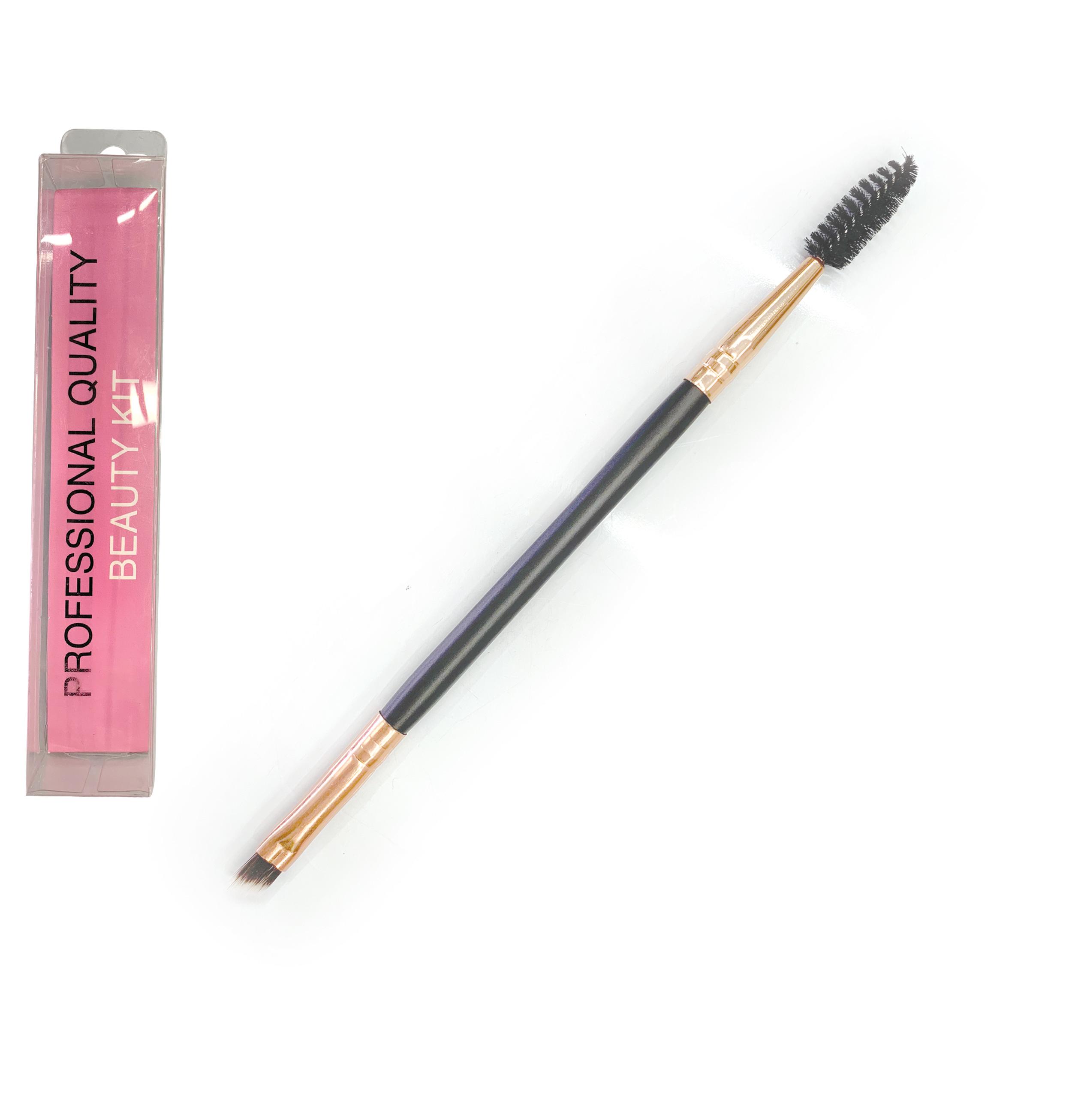 Πινέλο διπλής όψης φρυδιών - eye liner 17cm