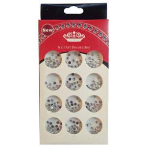 Διακοσμητικά ιριδίζοντα στρασάκια νυχιών - Συσκευασία κασετίνα [40502097]