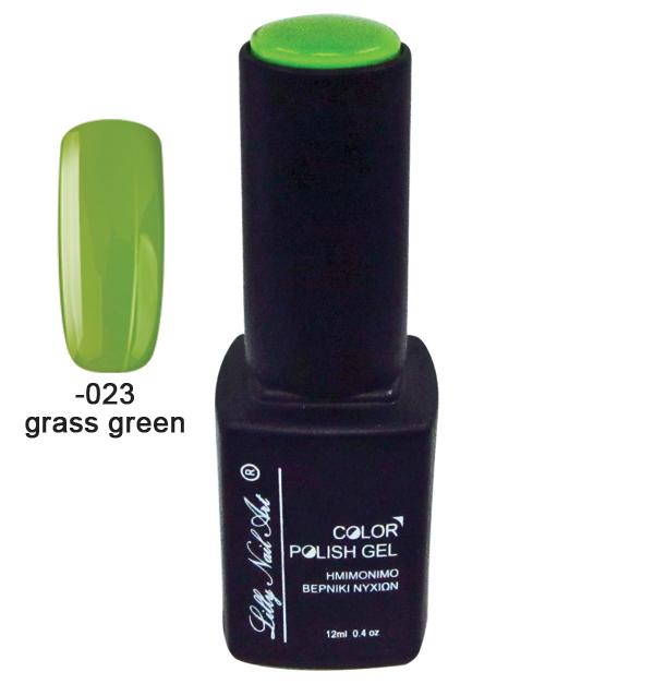 Ημιμόνιμο τριφασικό μανό 12ml - Grass green