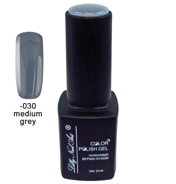 Ημιμόνιμο τριφασικό μανό 12ml - Medium grey