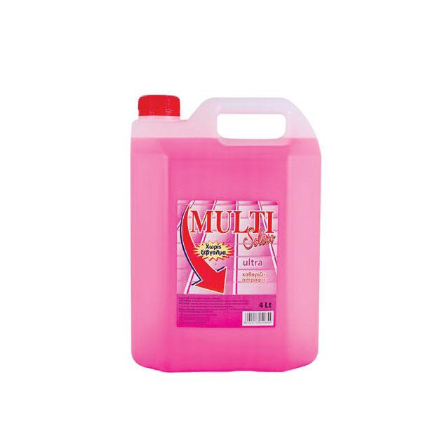 Υγρό γενικού καθαρισμού Solero Multi 4lt κεράσι