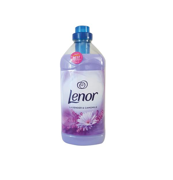 Μαλακτικό ρούχων Lenor 1.800ml (60pd) λεβάντα χαμομήλι