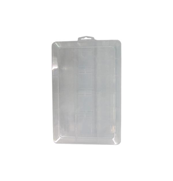Πλαστικό αποθηκευτικό κουτί με καπάκι και χωρίσματα