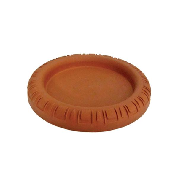 Πλαστικό πιατάκι γλάστρας Νο 3 - Φ12,5cm
