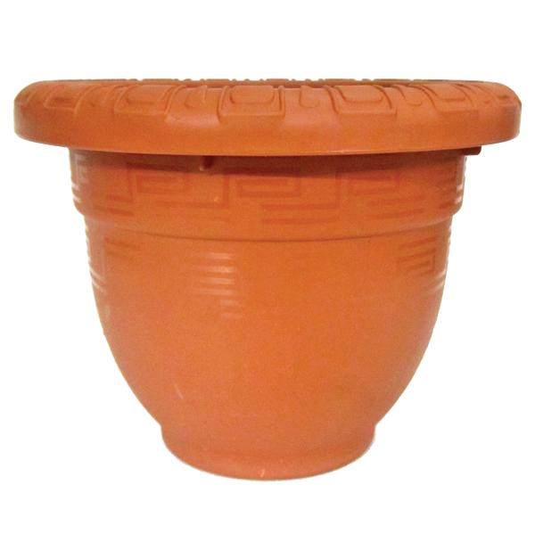 Πλαστική γλάστρα Νο 3 - Φ17,5cm