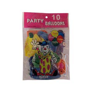 Σετ 10 μπαλόνια Happy Birthday [10507037]