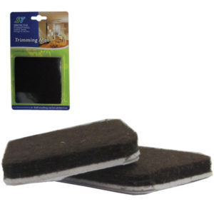Σετ 2 τετράγωνα αυτοκόλλητα προστατευτικά τσοχάκια επίπλων [30501210]