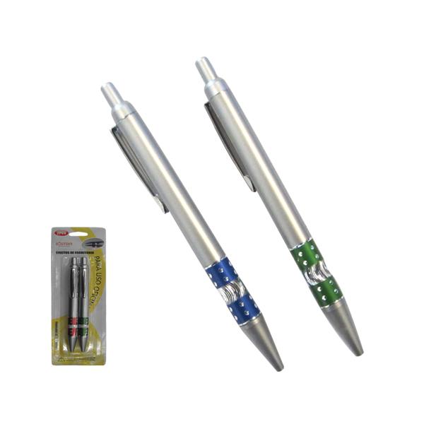 Σετ με 2 μπλε στυλό