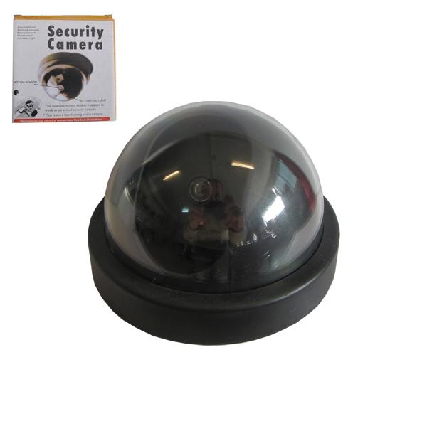 Ψεύτικη θολωτή κάμερα ασφαλείας με μπαταρία