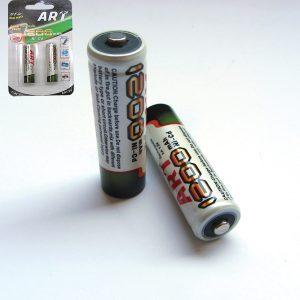 Σετ 2 μπαταρίες ΑΑ-R6 επαναφορτιζόμενες