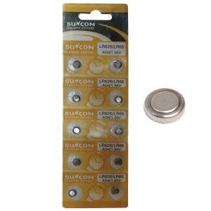 10 μπαταρίες λιθίου LR626