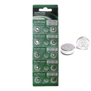10 μπαταρίες λιθίου LR41-κουμπιά