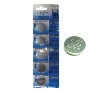 5 μπαταρίες λιθίου CR2032-κουμπιά