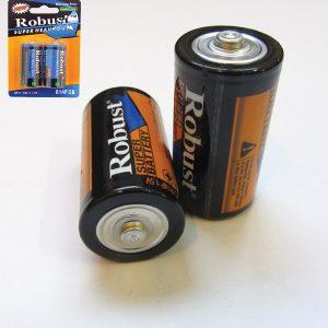 Συσκευασία 2 απλές μπαταρίες R14-C [00600007]