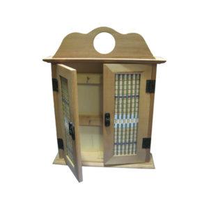 Κλειδοθήκες ξύλινες 29x22x5,5 cm