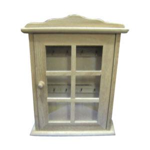 Κλειδοθήκη ξύλινη 28,5x21,5x5,5cm
