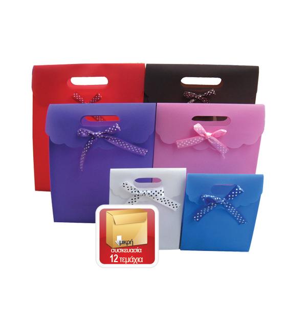 Πλαστική τσάντα - σακούλα δώρου φάκελος 26x19cm