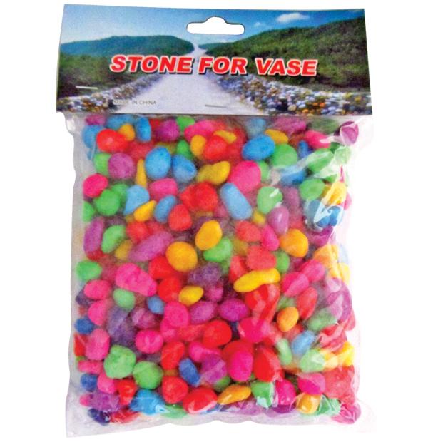 Διακοσμητικές πέτρες χρωματιστές 500γρ.