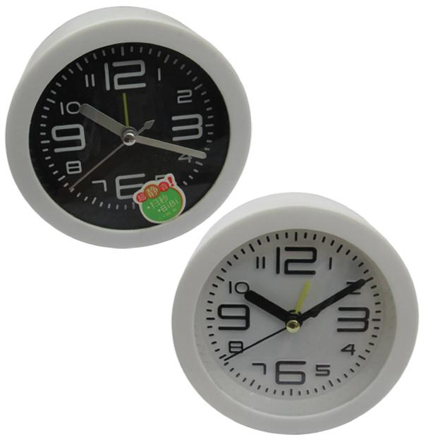 Ξυπνητήρι ρολόι στρογγυλό Φ9,5