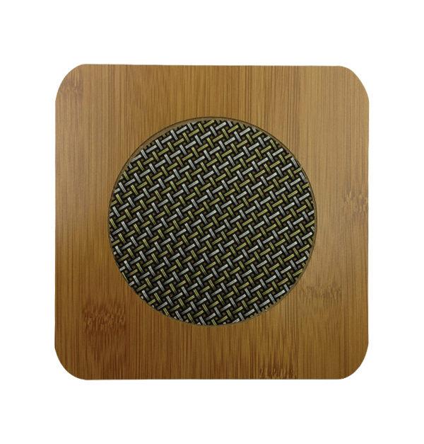 Τετράγωνη ξύλινη βάση για σκεύη [00108123-2]