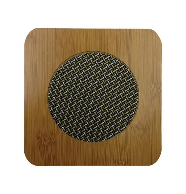 Τετράγωνη ξύλινη βάση για σκεύη