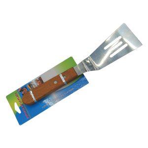 Μεταλλική σπάτουλα σερβιρίσματος με ξύλινη λαβή [00101368]