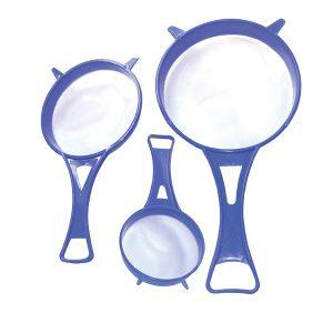 Σετ 3 πλαστικά σουρωτήρια [00110004]