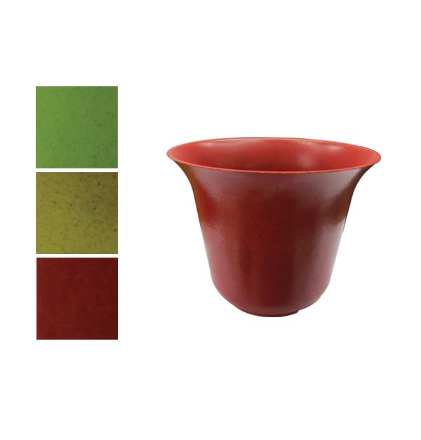 Πλαστικό χρωματιστό κασπό καμπάνα 11cm