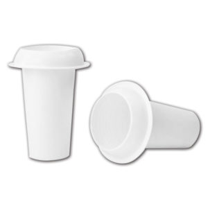 Λευκό βάζο μνημάτων [70101326]