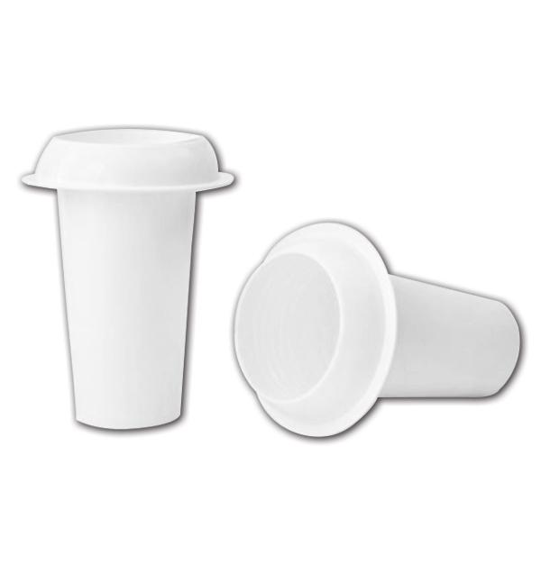 Λευκό βάζο μνημάτων