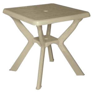 Τετράγωνο πλαστικό τραπέζι [70201110]