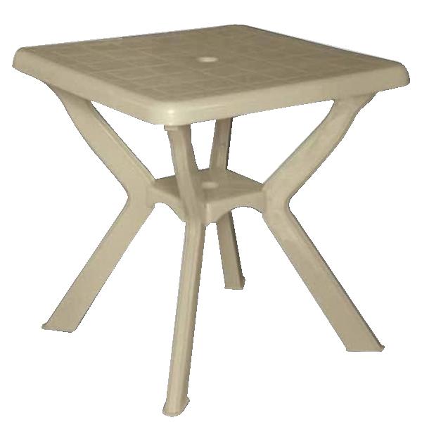 Τετράγωνο πλαστικό τραπέζι