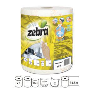 2-layer kitchen paper roll 300gr