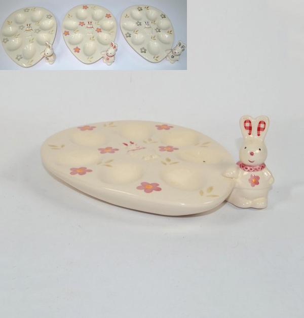 Πασχαλινή αυγοθήκη με κουνελάκι