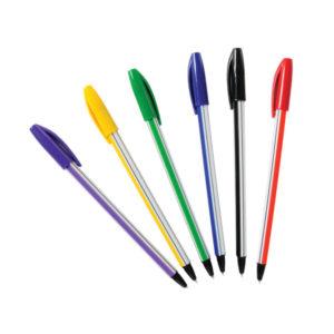 Σετ 6 χρωματιστά στυλό [70604119]