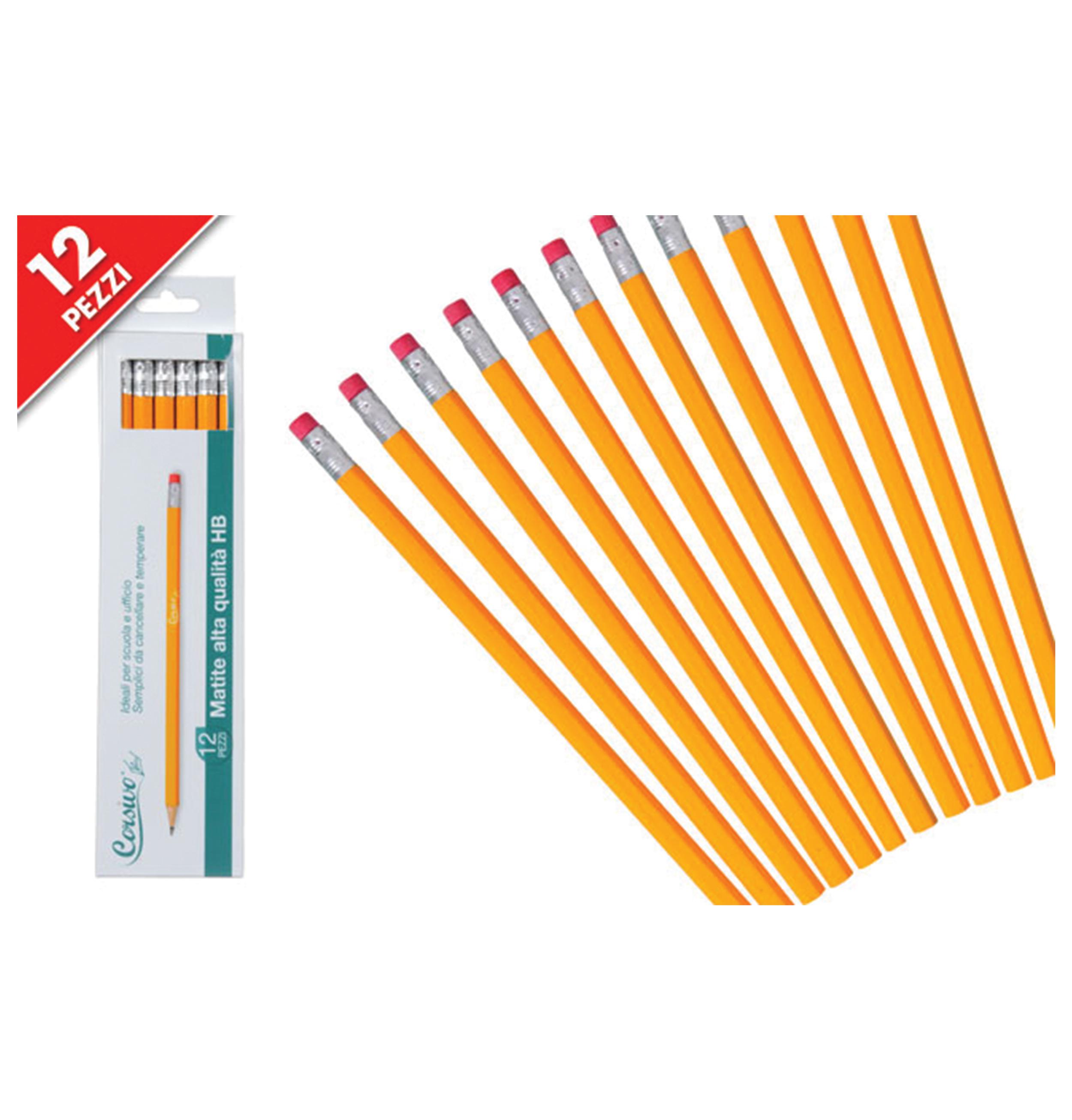 Σετ 12 μολύβια HB