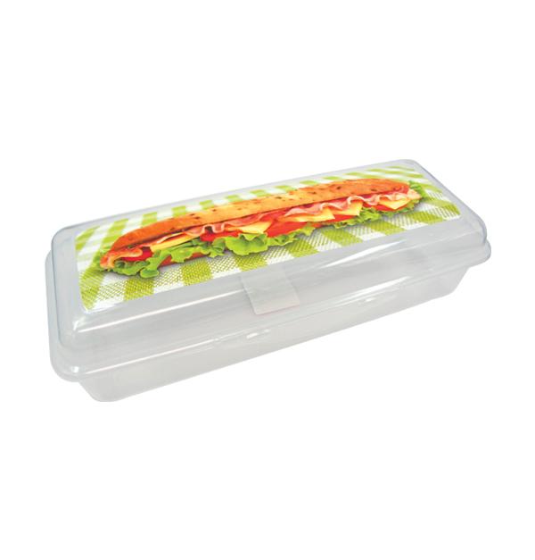 Μακρόστενο τάπερ για σάντουιτς 1,2 λίτρα
