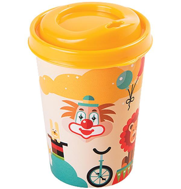 Πλαστικό ποτήρι 0,3lt με καπάκι και πιπίλα