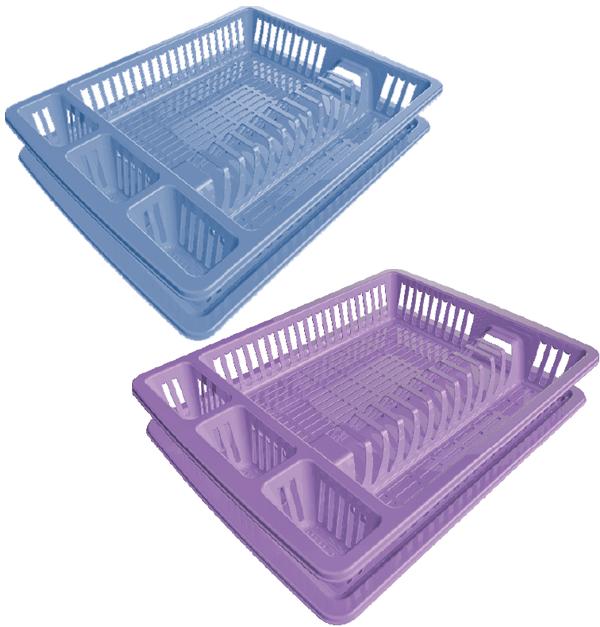 Πλαστική πιατοθήκη με δίσκο