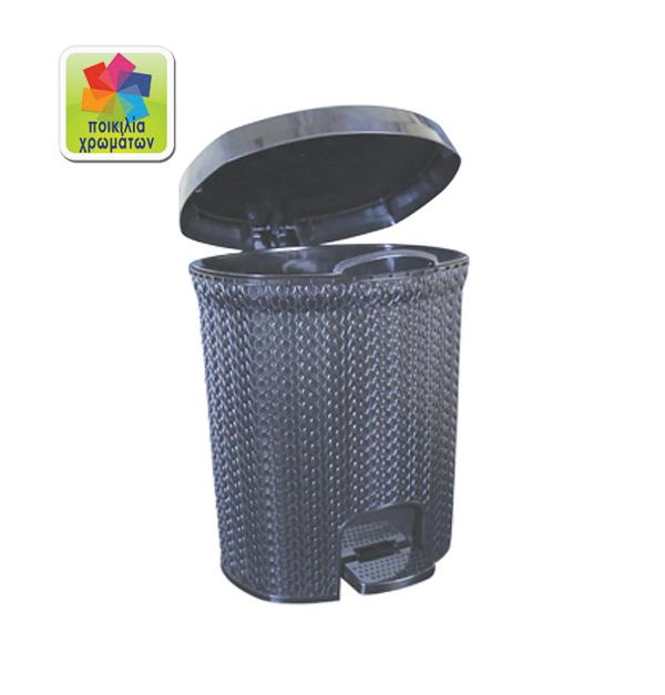 Πλαστικός κάδος απορριμάτων 10 lt